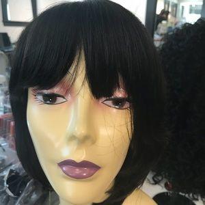 Human hair BOB wig short style wig 2019 New Silky